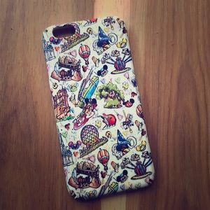 WDW Disneyworld iPhone 6S cell phone cover